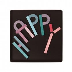 Magneetpuzzel Letters maken