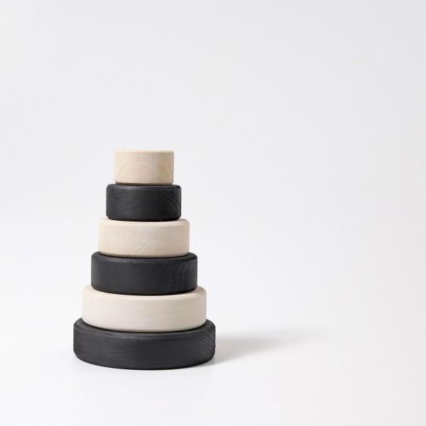 Grimm's toren klein monochrome of zwart/wit