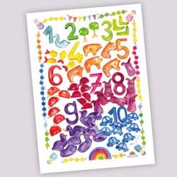 Poster Grimm's Getallenwereld