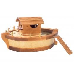 Schip of Ark met stuurhuis