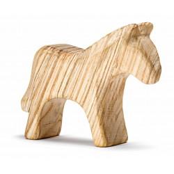 Blank houten paard