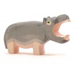 Nijlpaard bek open