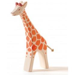 Giraffe lopend