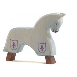Paard blauw
