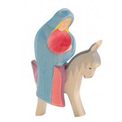 Maria op ezel