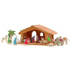 Kerststal mini complete set