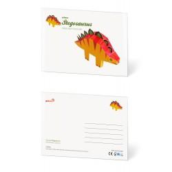 Pukaca felicitatie kaart Stegosaurus