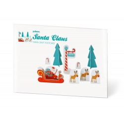 Pukaca kerstwens kaart Kerstman | Santa Claus