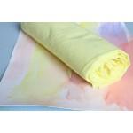 Sarah's Silks Katoenen Speeldoek geel XL