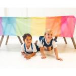 Sarah's Silks Katoenen Speeldoek regenboog XL