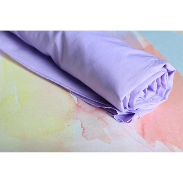 Sarah's Silks Katoenen Speeldoek lavendel XL