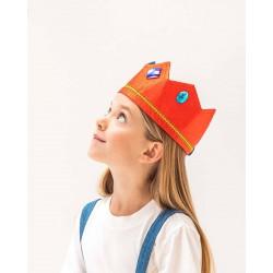 Omkeerbare kroon Blauw/Rood