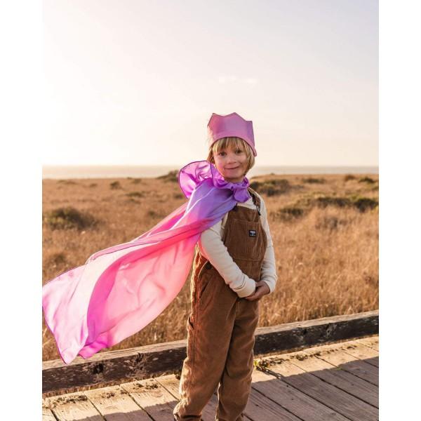 Sarah's Silks Speelzijden cape Bloesem