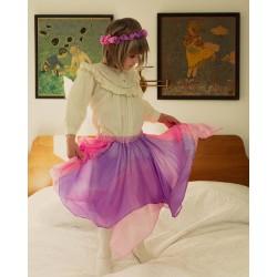 Speelzijden Sprookjes rok bloesem