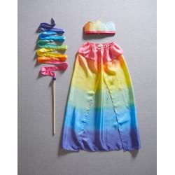 Kostuum Regenboog Koning/Koningin