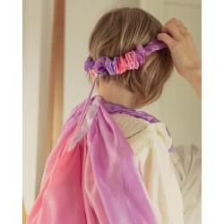 Speelzijden Haarband bloesem