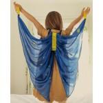Sarah's Silks Speelzijden Vleugels sterrennacht