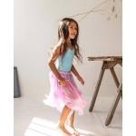 Sarah's Silks Speelzijden Sprookjes rok roze/lavendel
