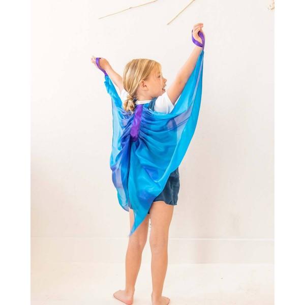 Sarah's Silks Speelzijden Vleugels Libelle