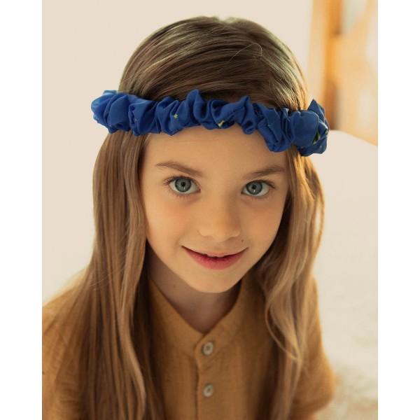 Sarah's Silks Speelzijden Haarband sterrennacht