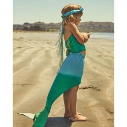 Speelzijden Zeemeerminnen kostuum