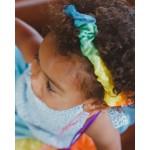 Sarah's Silks Speelzijden Haarband regenboog