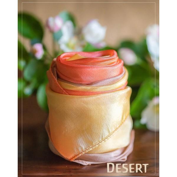 Sarah's Silks Aarde Speelzijde medium Woestijn