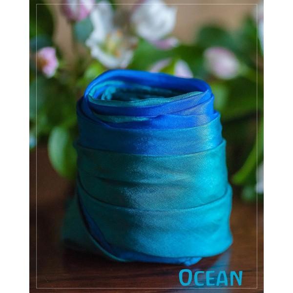 Sarah's Silks Aarde Speelzijde medium Oceaan