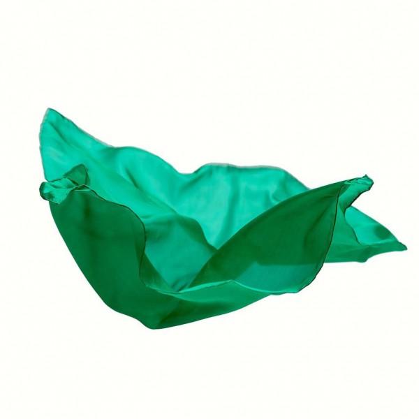 Sarah's Silks Speelzijde medium smaragd groen