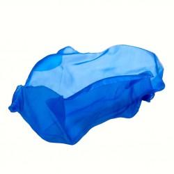 Speelzijde medium koningsblauw
