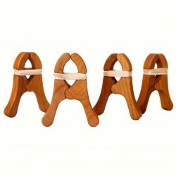 Kersen Houten Speelknijpers - 4 st