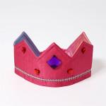 Omkeerbare kroon Roze/Regenboog