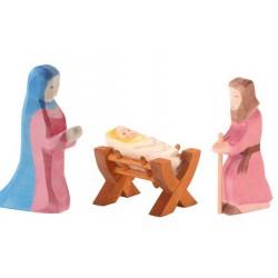 Maria Jozef en Kindje Jezus II set 3-delig