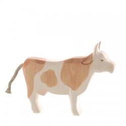 Koe bruin staand