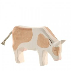 Koe bruin etend