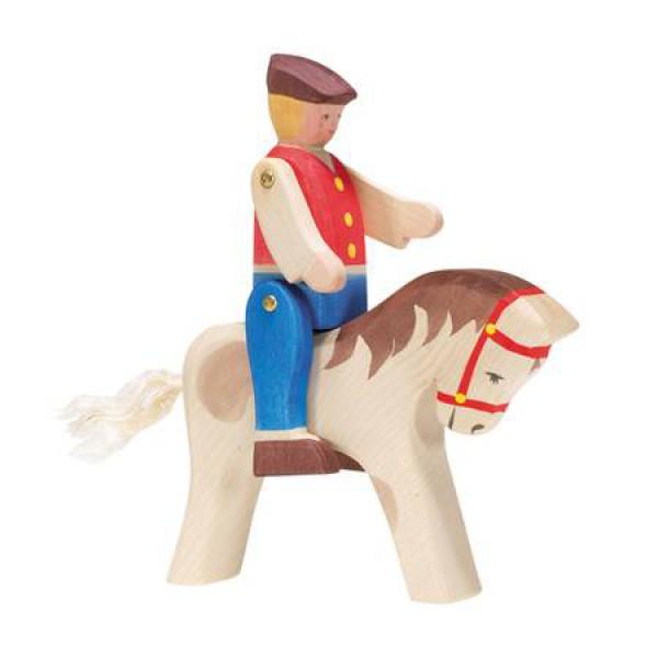 Ostheimer Paard  met ruiter