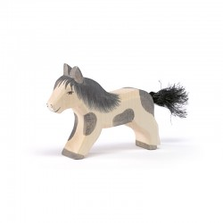 Shetland Pony lopend