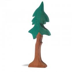 Dennenboom op stam