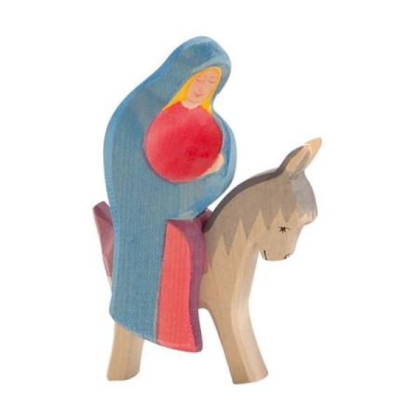 Ostheimer Maria op ezel