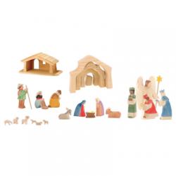 Kerststal mini set