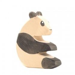 Panda zittend