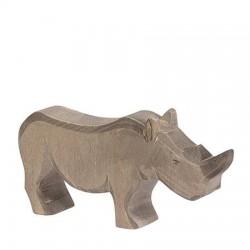Neushoorn donker