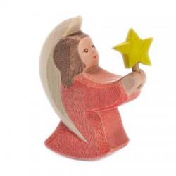 Engel rood met ster