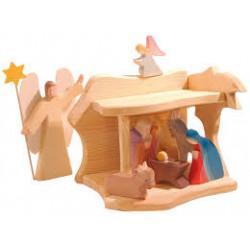 Kleine kerststal