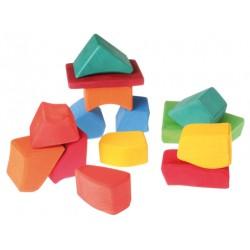 Blokken gekleurd Waldorf