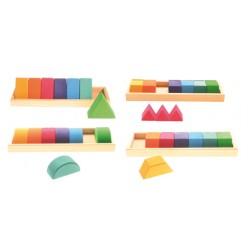 Blokkendoos vormen en kleuren II