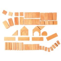 Blokken geometrisch naturel 60