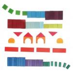 Grimms Blokken geometrisch gekleurd 60