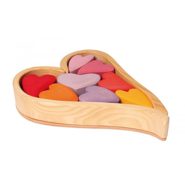 Grimms Blokken rode harten