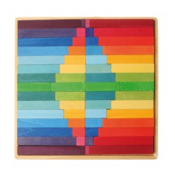 Plankjes in frame